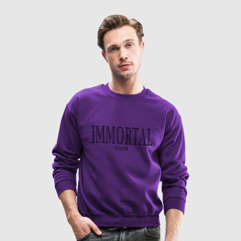Immortal Vision Balmain Inspired  Long Sleeve Shirts - Crewneck Sweatshirt