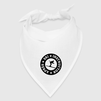 Après-Ski Instructor Seal Button - Bandana