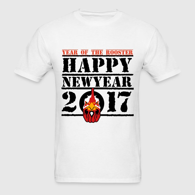HAPPY NEW YEAR 2017 T-Shirts - Men's T-Shirt