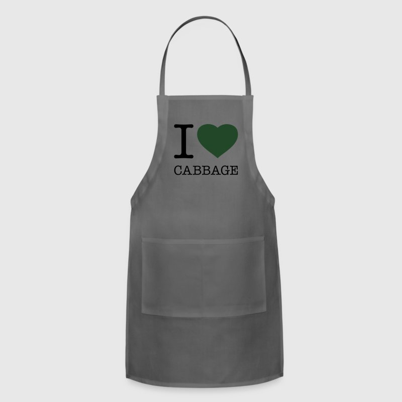 I LOVE CABBAGE - Adjustable Apron