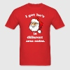 Santa got hos. T-Shirts - Men's T-Shirt