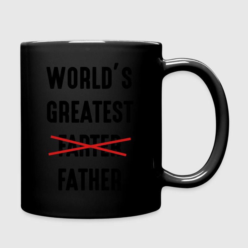 World's greatest farter father Mugs & Drinkware - Full Color Mug