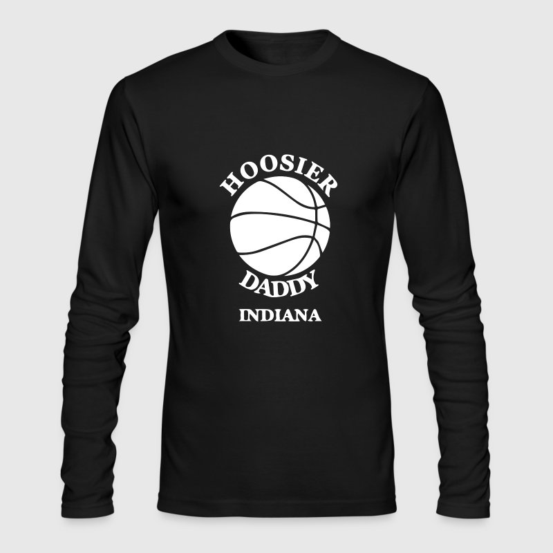 Hoosier Daddy Indiana - Men's Long Sleeve T-Shirt by Next Level