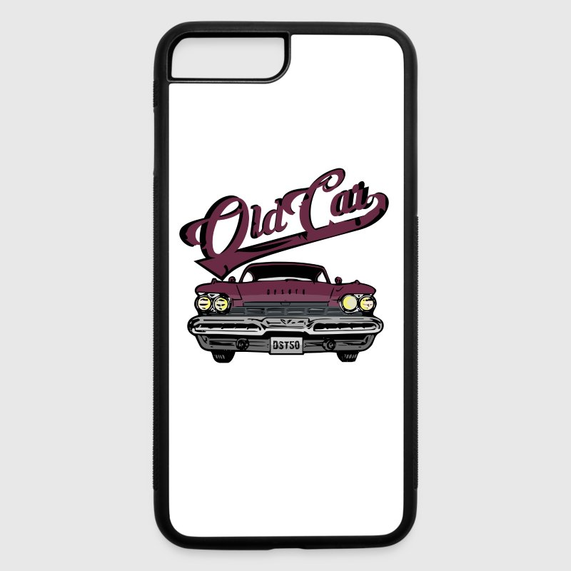 Retro Old Car Phone & Tablet Cases - iPhone 7 Plus Rubber Case