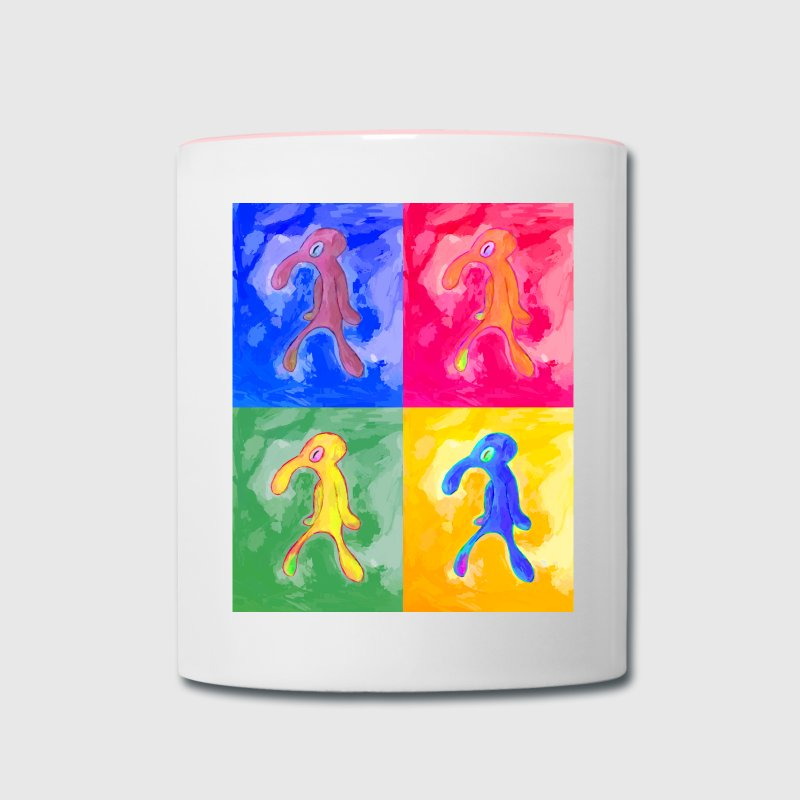 Bold and Brash Mug - Contrast Coffee Mug
