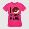 I donut belong here T-Shirts - Women's T-Shirt
