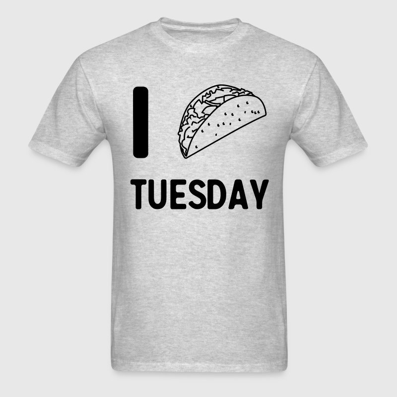 I taco Tuesday T-Shirts - Men's T-Shirt