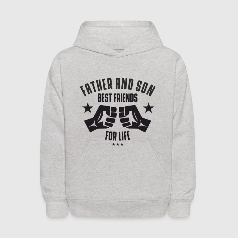 Father and Son best friends for life  Sweatshirts - Kids' Hoodie