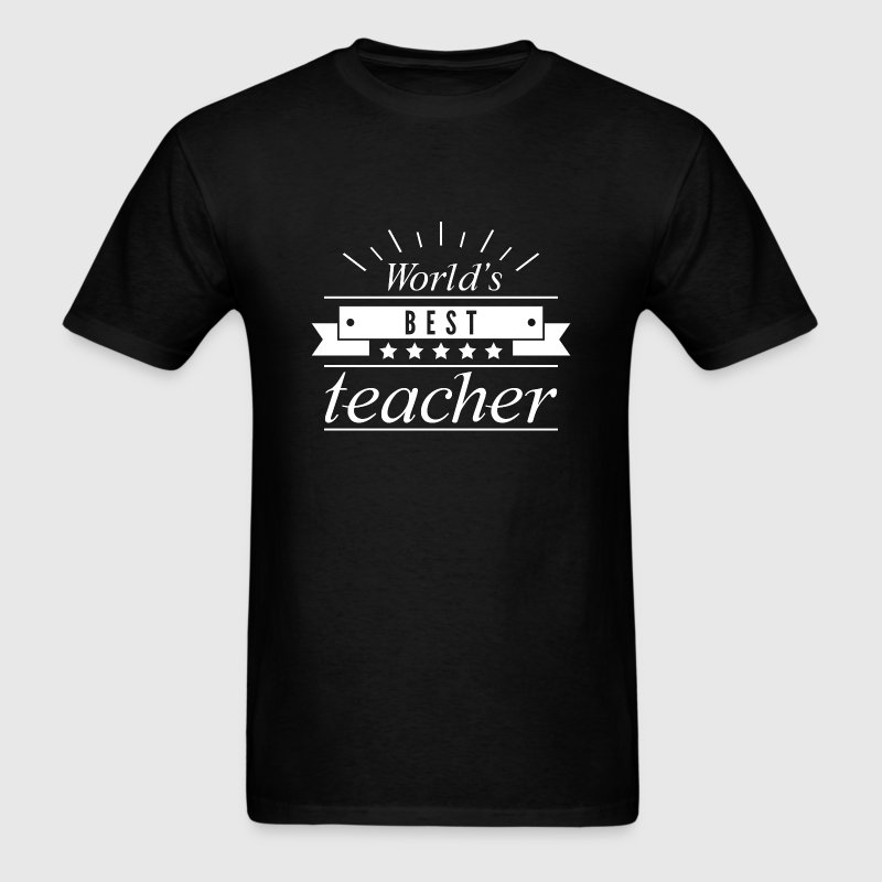 World's Best Teacher - Men's T-Shirt