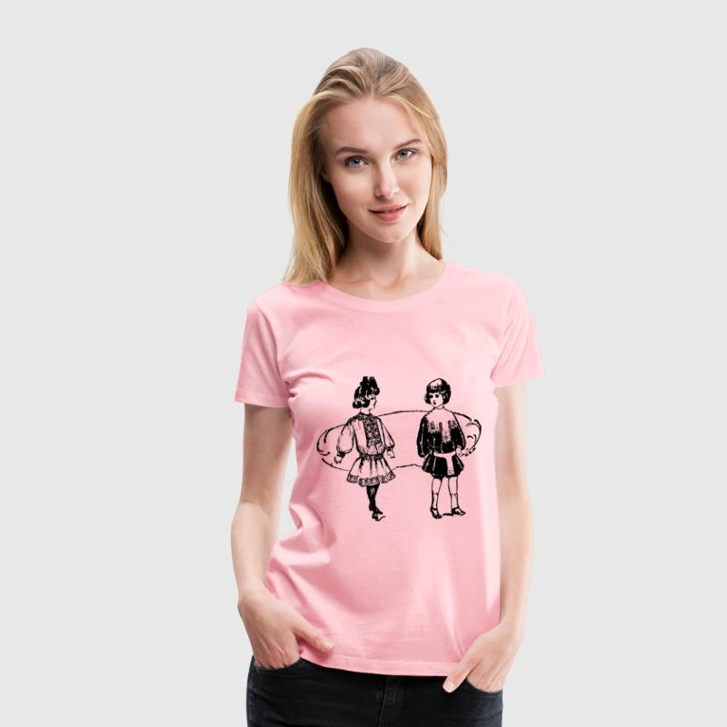 Suits for Little People - Women's Premium T-Shirt