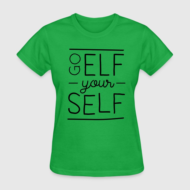 Go elf yourself T-Shirts - Women's T-Shirt