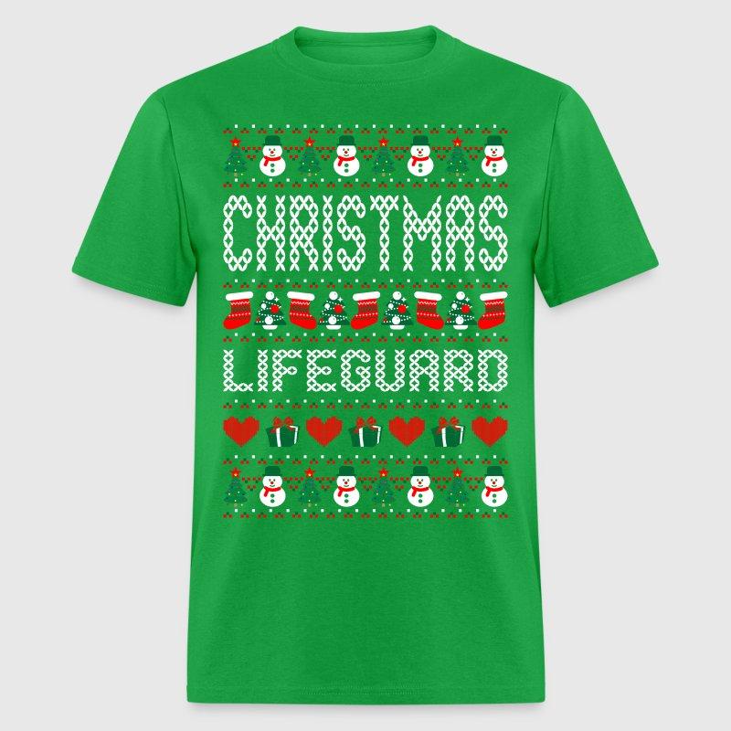 Christmas lifeguard ugly christmas sweater t shirt for Tacky t shirt ideas