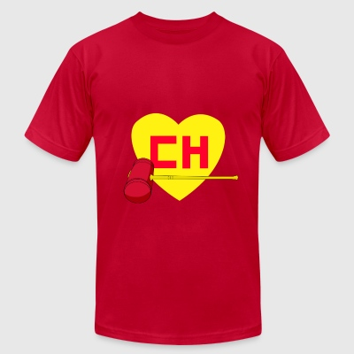 El chapulin Colorado - Men's T-Shirt by American Apparel