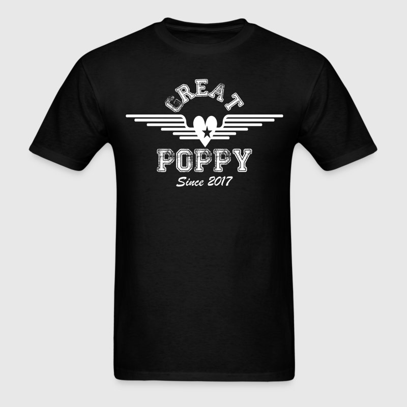 Great Poppy Since 2017 T-Shirts - Men's T-Shirt