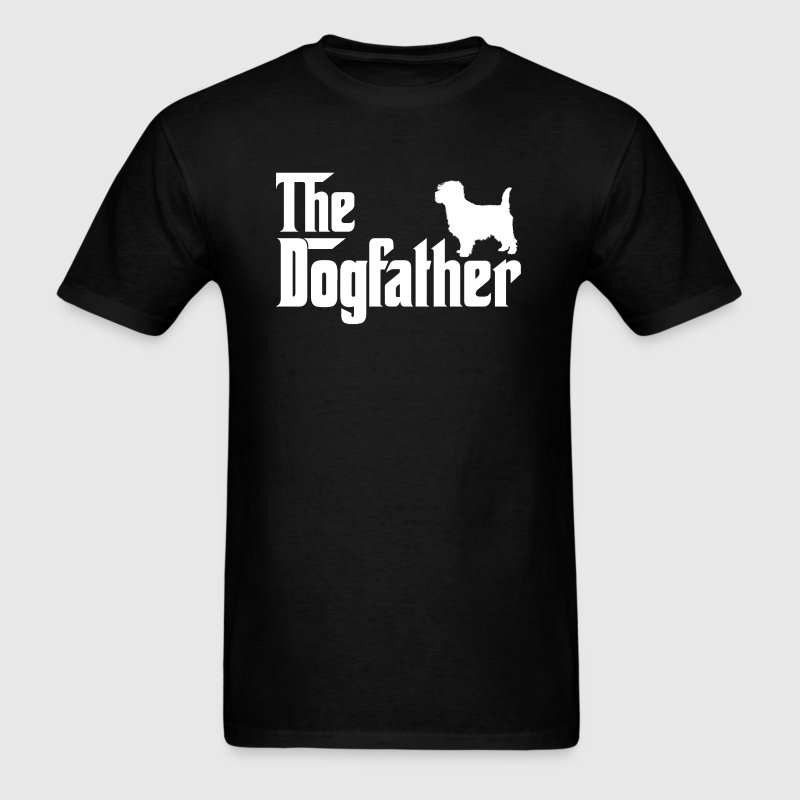 Cairn Terrier DogFather T-Shirt - Men's T-Shirt