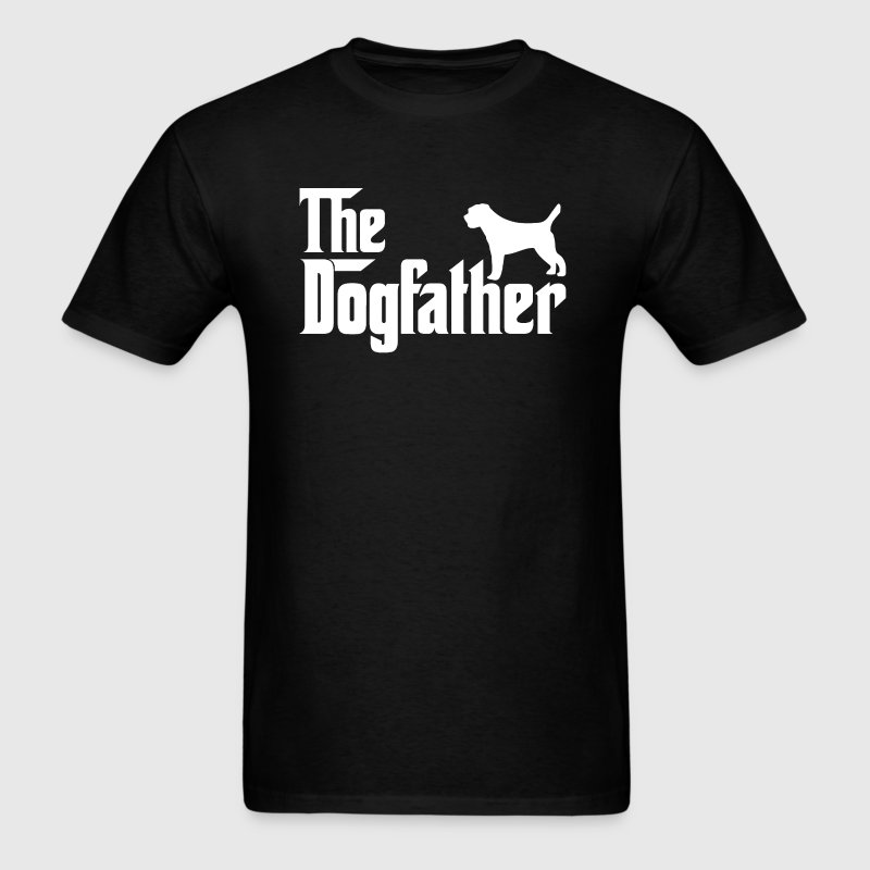 Border Terrier DogFather T-Shirt  - Men's T-Shirt