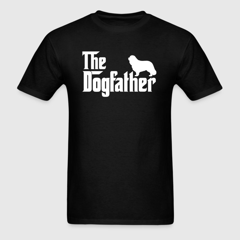 Cavalier King Charles Spaniel DogFather T-Shirt  - Men's T-Shirt