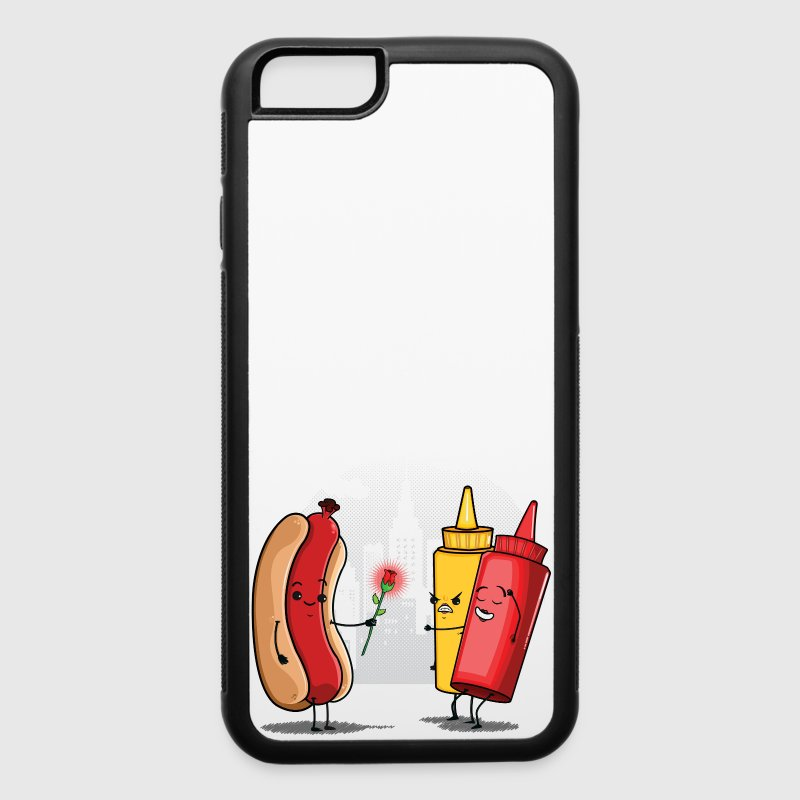 Hot Dog Love Ketchup Phone & Tablet Cases - iPhone 6/6s Rubber Case