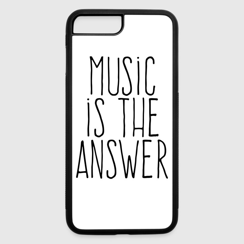 music is the answer Accessories - iPhone 7 Plus/8 Plus Rubber Case