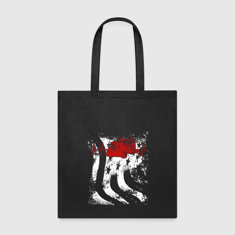 Truckers are US Heartbeat Bags & backpacks - Tote Bag