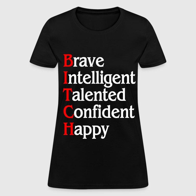 BITCH FUNNY SAYING T-Shirt | Spreadshirt