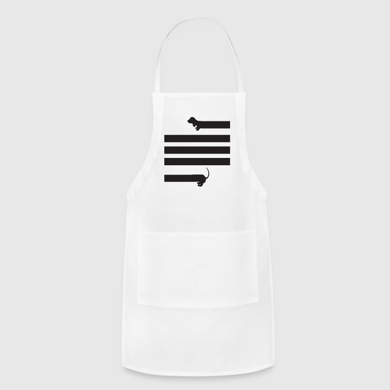 dachshund sausage dog - Adjustable Apron