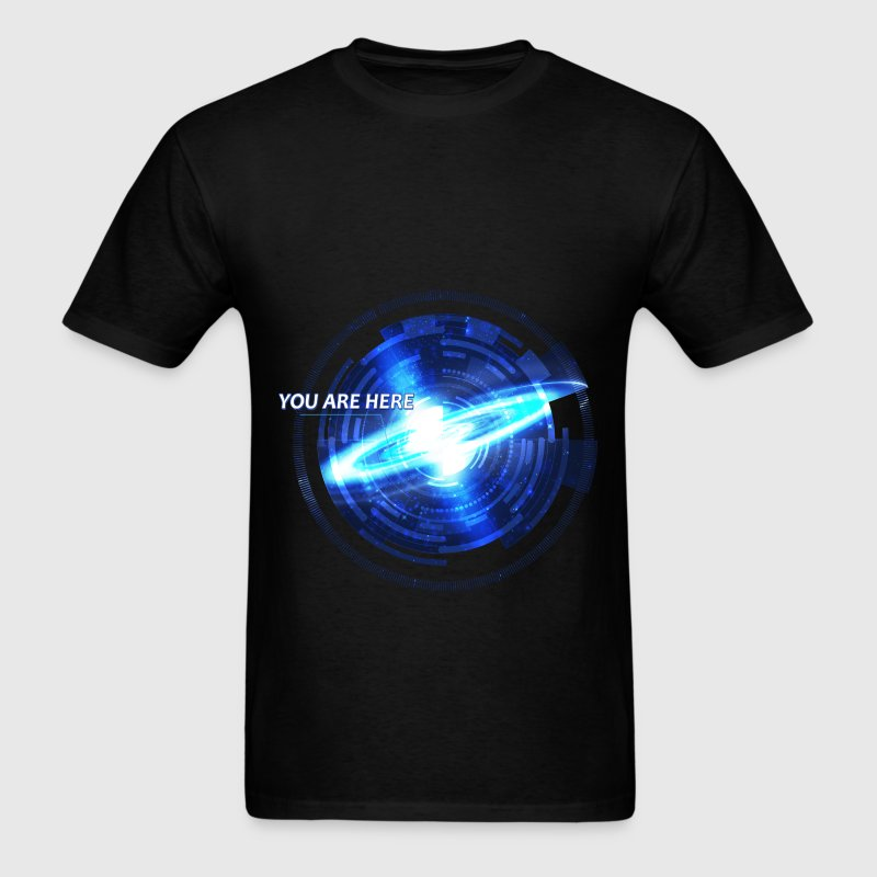 Galaxy - You are here  - Men's T-Shirt
