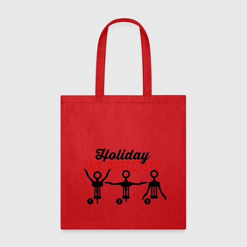 Holiday work corkscrew Bags & backpacks - Tote Bag
