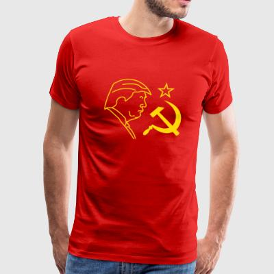 Trump Hammer and Sickle Sportswear - Men's Premium T-Shirt