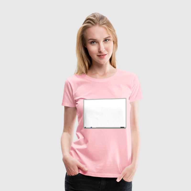 Whiteboard - Women's Premium T-Shirt