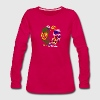 VANCOUVER BC WOLF LOVE Long Sleeve Shirts - Women's Premium Long Sleeve T-Shirt