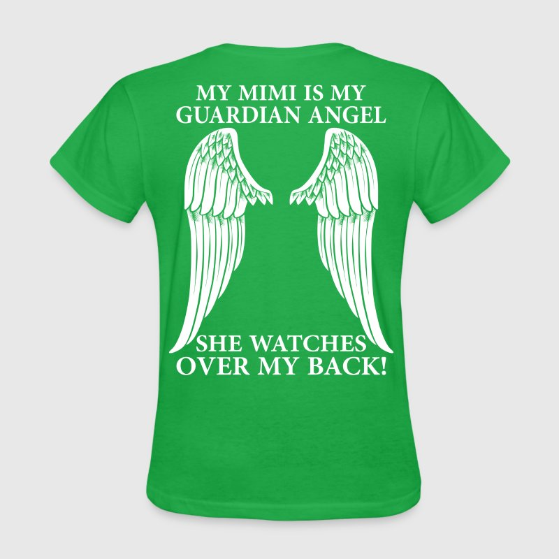 My Mimi Is My Guardian Angel T-Shirts - Women's T-Shirt