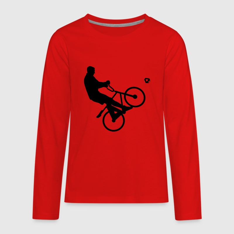 Cycle ball Kids' Shirts - Kids' Premium Long Sleeve T-Shirt
