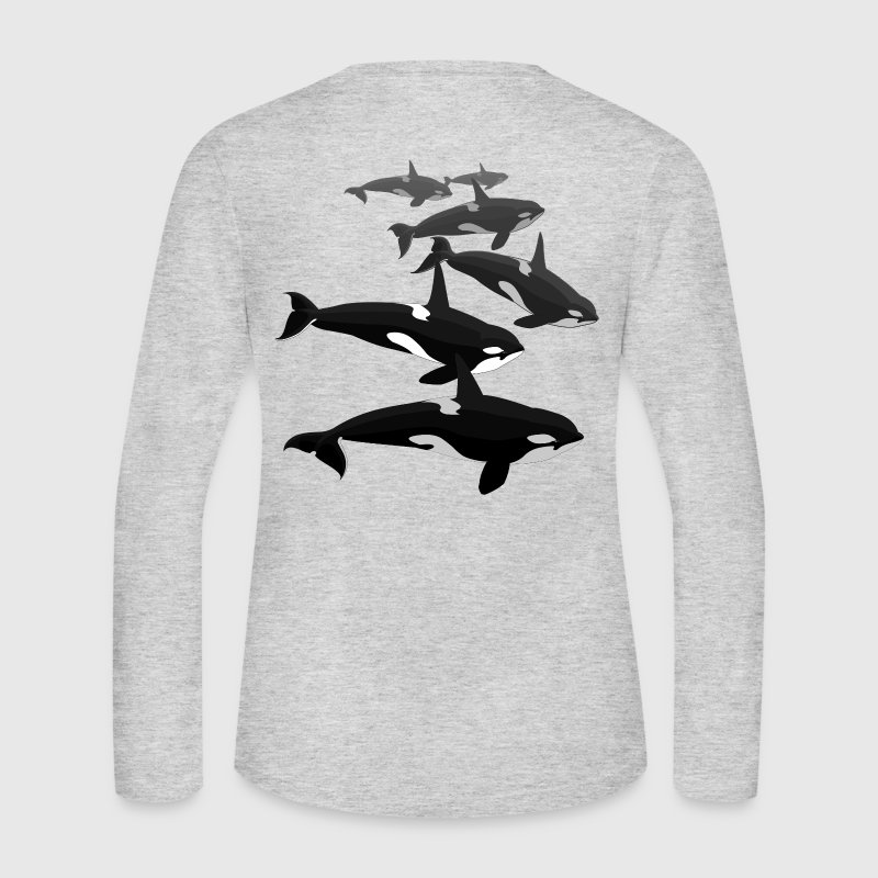 Orca Whale Shirt Women's Killer Whale Jersey Shirt - Women's Long Sleeve Jersey T-Shirt