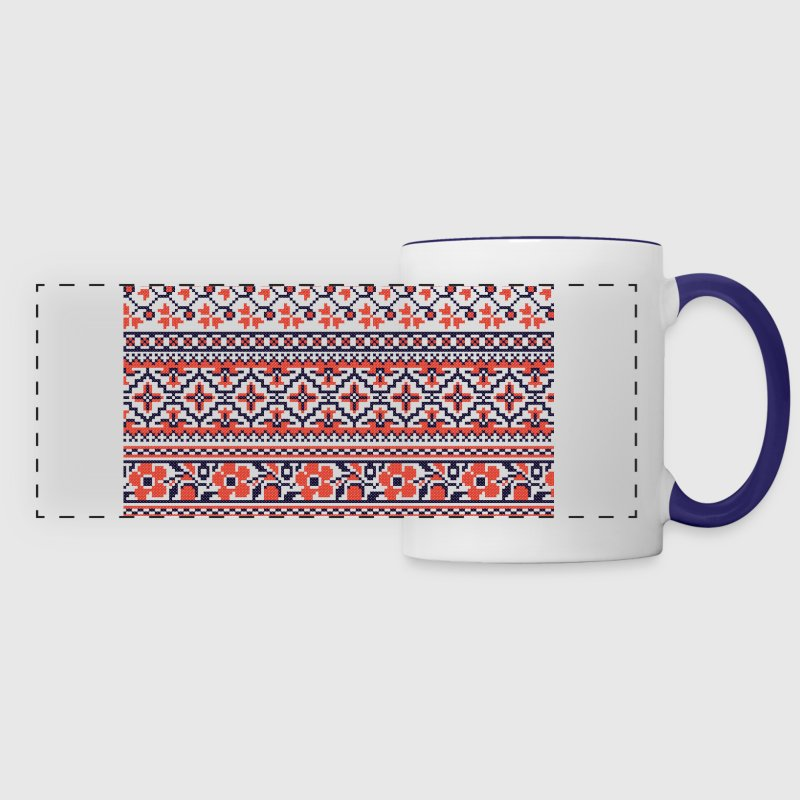 Collection cross-stitch pattern Mugs & Drinkware - Panoramic Mug
