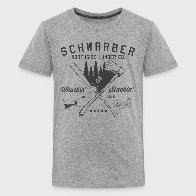 Schwarber Lumber Co - Kids' Premium T-Shirt