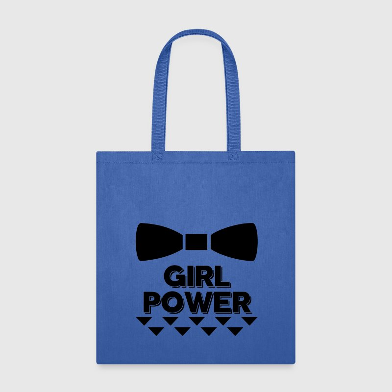 Bow Girl Power Bags & backpacks - Tote Bag