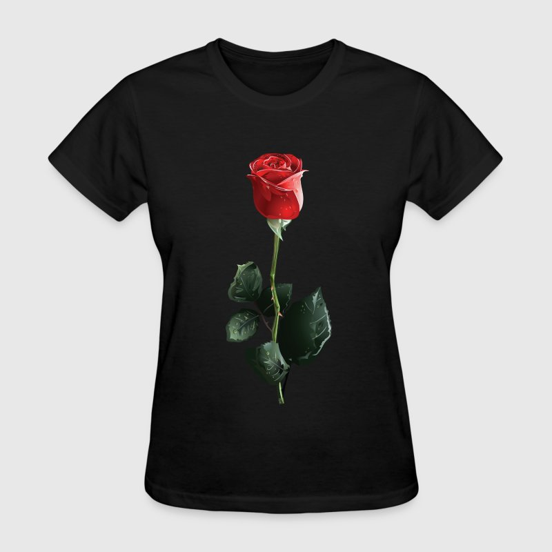 Red Rose Valentine T-Shirts - Women's T-Shirt