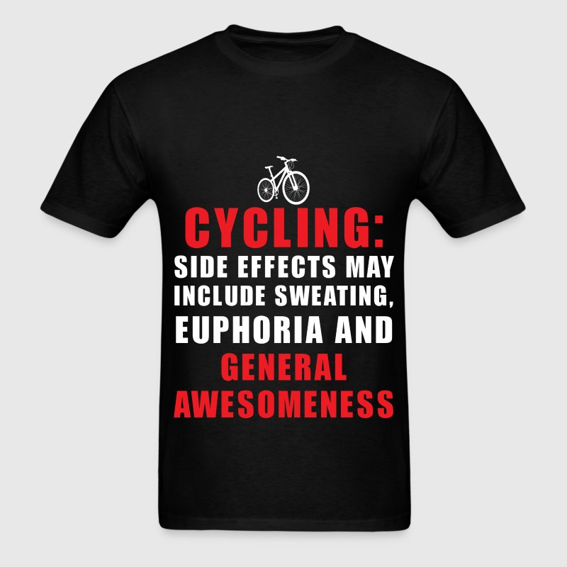 Cycling - Cycling - Side effects may include sweat - Men's T-Shirt