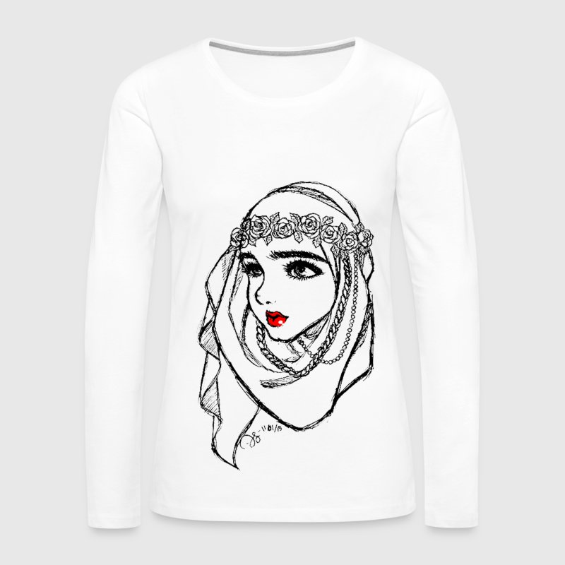Hijab Princess - Women's Premium Long Sleeve T-Shirt
