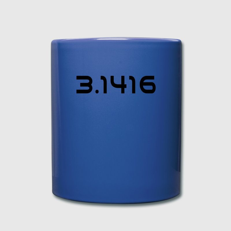 Number Pi 3.1416 Mugs & Drinkware - Full Color Mug
