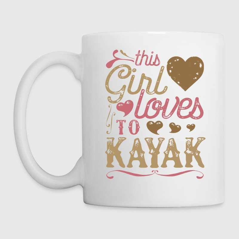 This Girl Loves To Kayak - Kayaking Mugs & Drinkware - Coffee/Tea Mug