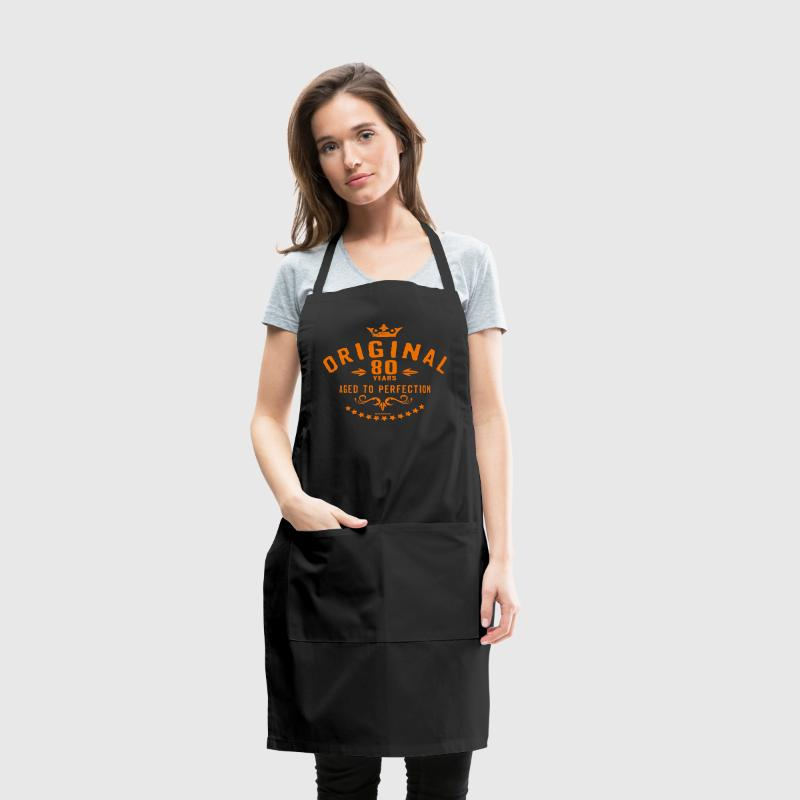 Original 80 years aged to perfection - RAHMENLOS birthday gift Aprons - Adjustable Apron