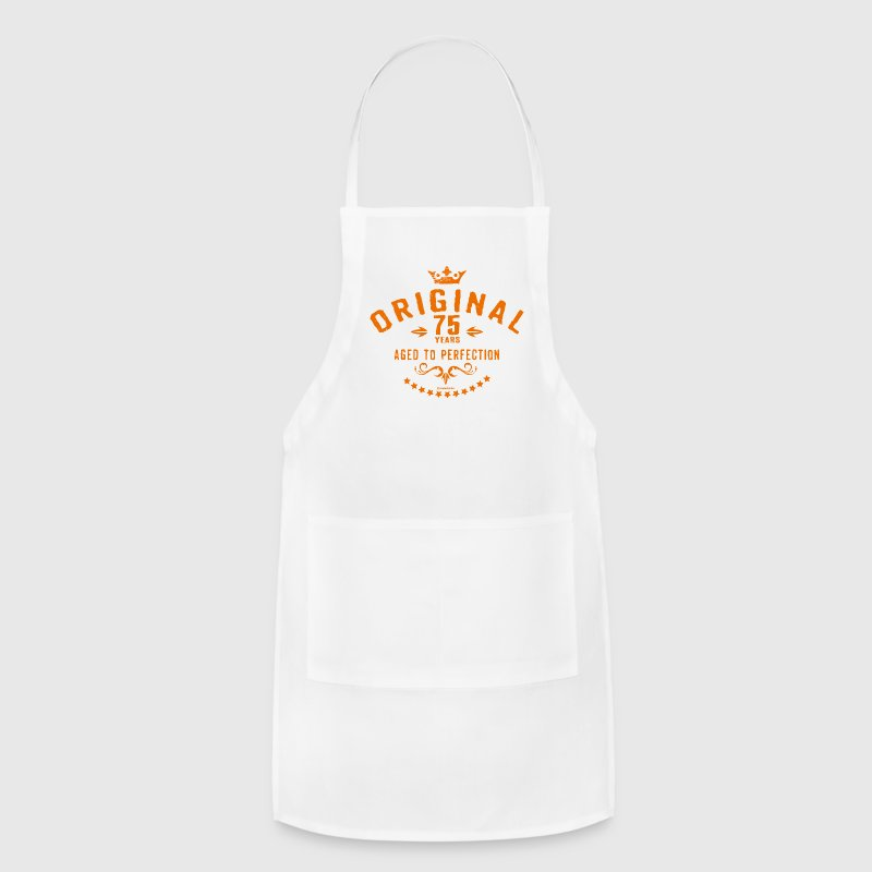 Original 75 years aged to perfection - RAHMENLOS birthday gift Aprons - Adjustable Apron