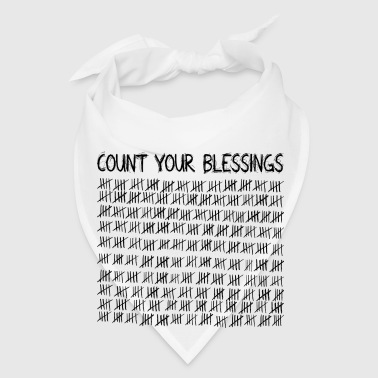 Count Your Blessings Other - Bandana