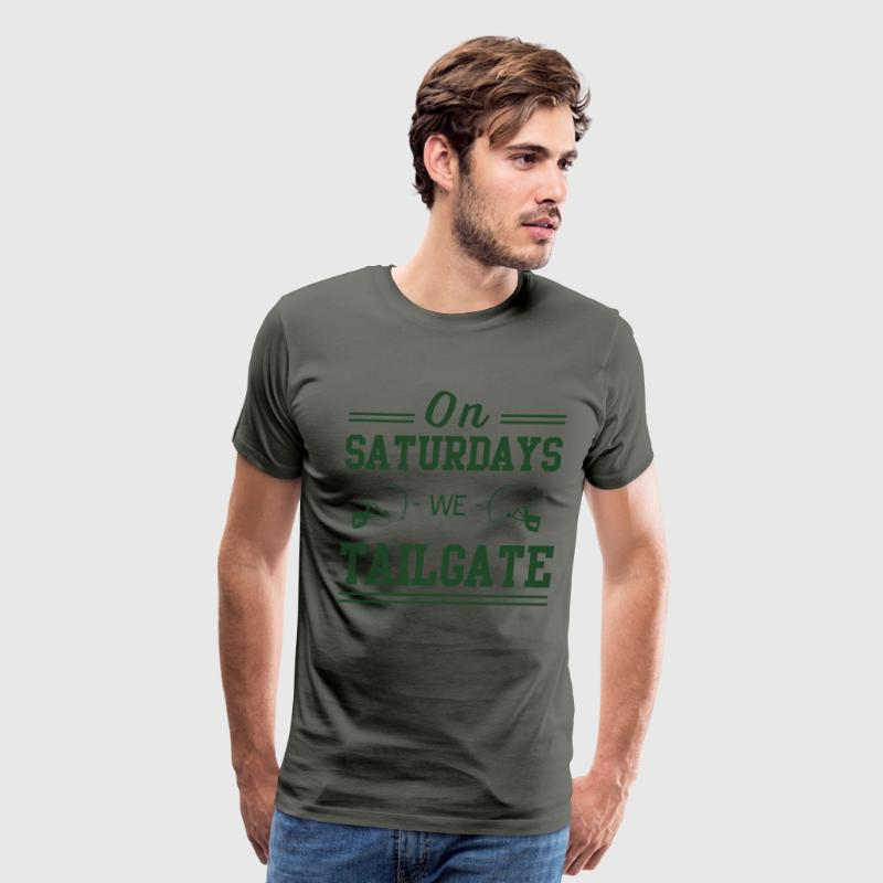 On Saturdays we Tailgate T-Shirts - Men's Premium T-Shirt