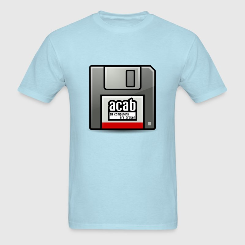 acab computers T-Shirts - Men's T-Shirt