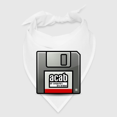 acab computers Mugs & Drinkware - Bandana