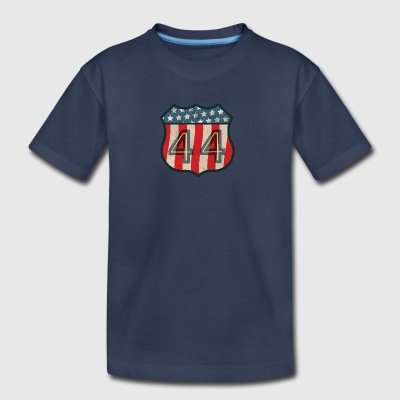 44 Vintage Shield Kids' T-Shirt - Toddler Premium T-Shirt