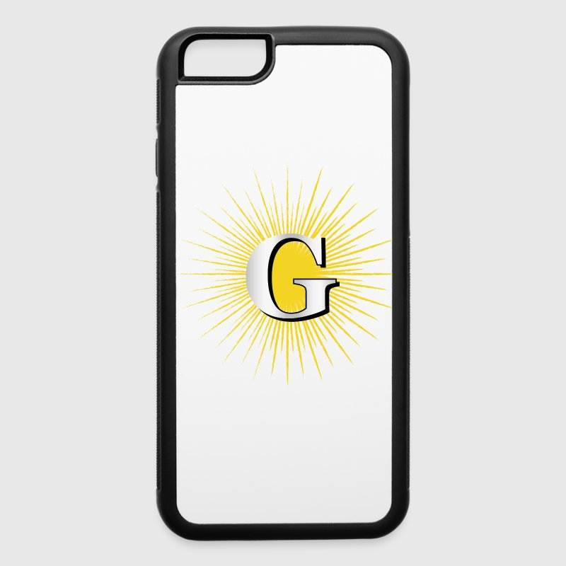 Letter G – masonic symbol Phone & Tablet Cases - iPhone 6/6s Rubber Case